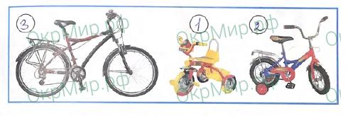 Рабочая тетрадь (Плешаков) 2 часть - 3. Где и когда?. Когда изобрели велосипед?, ответ 1