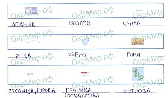 Рабочая тетрадь (Плешаков) 2 часть - 6. Путешествия. Россия на карте, ответ 5