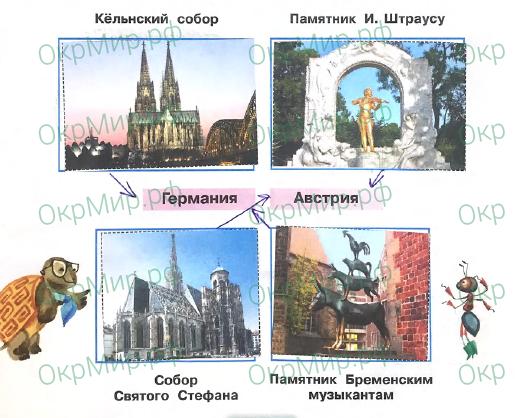Рабочая тетрадь (Плешаков) 2 часть - 6. Путешествие по городам и странам. В центре Европы, ответ 6