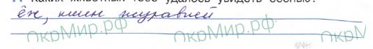 Дневник (Плешаков) - . Наблюдения в природе осенью, ответ 6