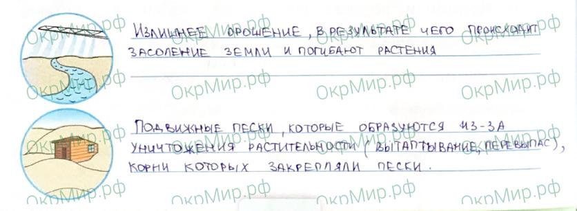 Рабочая тетрадь (Плешаков, Крючкова) 1 часть - 2. Природа России. Пустыни, ответ 6