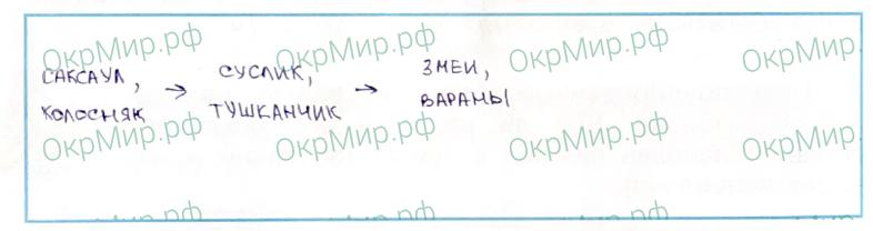 Рабочая тетрадь (Плешаков, Крючкова) 1 часть - 2. Природа России. Пустыни, ответ 5