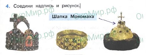 Рабочая тетрадь (Плешаков, Крючкова) 2 часть - 5. Страницы истории России. Русь расправляет крылья, ответ 4