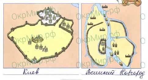 Рабочая тетрадь (Плешаков, Крючкова) 2 часть - 5. Страницы истории России. Страна городов, ответ 4