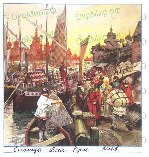 Рабочая тетрадь (Плешаков, Крючкова) 2 часть - 5. Страницы истории России. Страна городов, ответ 2